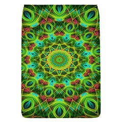 Peacock Feathers Mandala Removable Flap Cover (Small)