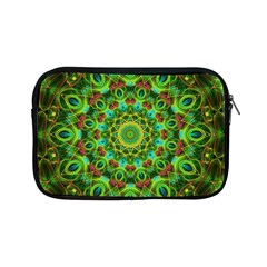 Peacock Feathers Mandala Apple iPad Mini Zippered Sleeve