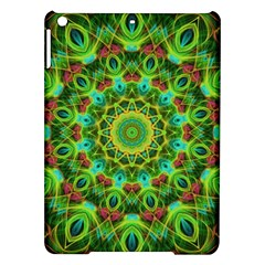 Peacock Feathers Mandala Apple iPad Air Hardshell Case