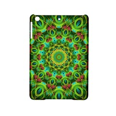 Peacock Feathers Mandala Apple iPad Mini 2 Hardshell Case
