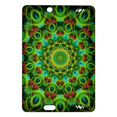 Peacock Feathers Mandala Kindle Fire HD 7  (2nd Gen) Hardshell Case