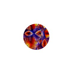 Winter Crystal Palace, Abstract Cosmic Dream 1  Mini Magnet