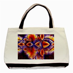 Winter Crystal Palace, Abstract Cosmic Dream Classic Tote Bag