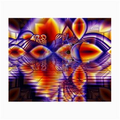 Winter Crystal Palace, Abstract Cosmic Dream Glasses Cloth (Small, Two Sides)