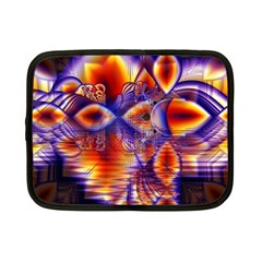 Winter Crystal Palace, Abstract Cosmic Dream Netbook Case (Small)