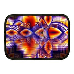 Winter Crystal Palace, Abstract Cosmic Dream Netbook Case (medium)