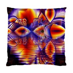 Winter Crystal Palace, Abstract Cosmic Dream Cushion Case (Two Sides)