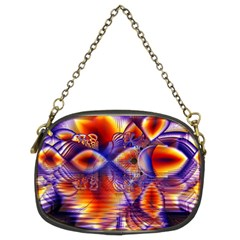 Winter Crystal Palace, Abstract Cosmic Dream Chain Purse (two Sides)