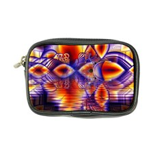 Winter Crystal Palace, Abstract Cosmic Dream Coin Purse