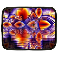Winter Crystal Palace, Abstract Cosmic Dream Netbook Case (xxl)