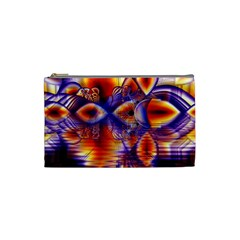 Winter Crystal Palace, Abstract Cosmic Dream Cosmetic Bag (small)