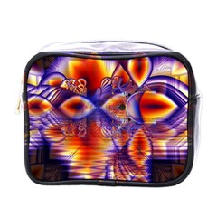 Winter Crystal Palace, Abstract Cosmic Dream Mini Toiletries Bag (One Side)