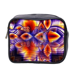 Winter Crystal Palace, Abstract Cosmic Dream Mini Toiletries Bag (Two Sides)