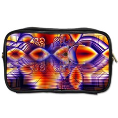 Winter Crystal Palace, Abstract Cosmic Dream Toiletries Bag (Two Sides)