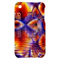 Winter Crystal Palace, Abstract Cosmic Dream Apple iPhone 3G/3GS Hardshell Case