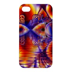 Winter Crystal Palace, Abstract Cosmic Dream Apple iPhone 4/4S Hardshell Case