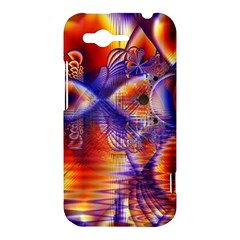 Winter Crystal Palace, Abstract Cosmic Dream HTC Rhyme Hardshell Case