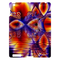Winter Crystal Palace, Abstract Cosmic Dream Apple iPad 3/4 Hardshell Case