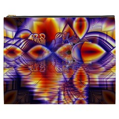 Winter Crystal Palace, Abstract Cosmic Dream Cosmetic Bag (xxxl)