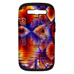 Winter Crystal Palace, Abstract Cosmic Dream Samsung Galaxy S III Hardshell Case (PC+Silicone)
