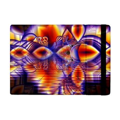 Winter Crystal Palace, Abstract Cosmic Dream Apple iPad Mini Flip Case