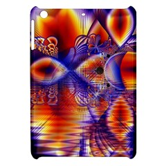 Winter Crystal Palace, Abstract Cosmic Dream Apple iPad Mini Hardshell Case