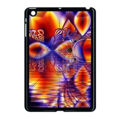 Winter Crystal Palace, Abstract Cosmic Dream Apple iPad Mini Case (Black)