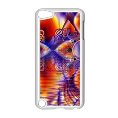 Winter Crystal Palace, Abstract Cosmic Dream Apple iPod Touch 5 Case (White)