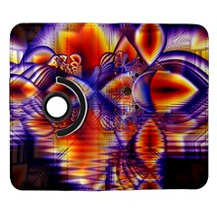 Winter Crystal Palace, Abstract Cosmic Dream Samsung Galaxy Note II Flip 360 Case
