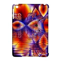 Winter Crystal Palace, Abstract Cosmic Dream Apple iPad Mini Hardshell Case (Compatible with Smart Cover)