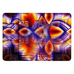 Winter Crystal Palace, Abstract Cosmic Dream Samsung Galaxy Tab 8.9  P7300 Flip Case