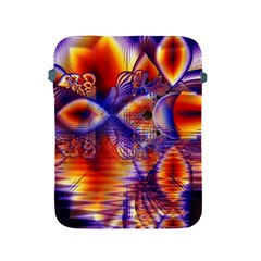 Winter Crystal Palace, Abstract Cosmic Dream Apple iPad 2/3/4 Protective Soft Case
