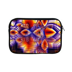 Winter Crystal Palace, Abstract Cosmic Dream Apple iPad Mini Zipper Case