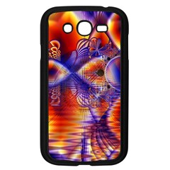 Winter Crystal Palace, Abstract Cosmic Dream Samsung Galaxy Grand Duos I9082 Case (black)