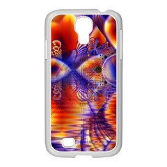 Winter Crystal Palace, Abstract Cosmic Dream Samsung GALAXY S4 I9500/ I9505 Case (White)