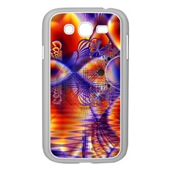 Winter Crystal Palace, Abstract Cosmic Dream Samsung Galaxy Grand DUOS I9082 Case (White)