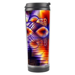 Winter Crystal Palace, Abstract Cosmic Dream Travel Tumbler