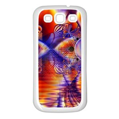 Winter Crystal Palace, Abstract Cosmic Dream Samsung Galaxy S3 Back Case (white)