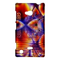Winter Crystal Palace, Abstract Cosmic Dream Nokia Lumia 720 Hardshell Case
