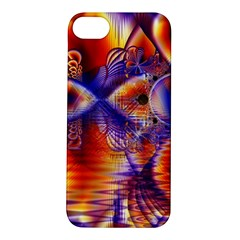 Winter Crystal Palace, Abstract Cosmic Dream Apple Iphone 5s Hardshell Case