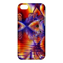 Winter Crystal Palace, Abstract Cosmic Dream Apple iPhone 5C Hardshell Case