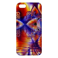 Winter Crystal Palace, Abstract Cosmic Dream iPhone 5S Premium Hardshell Case