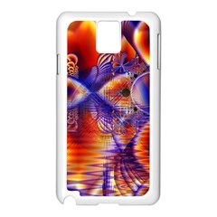 Winter Crystal Palace, Abstract Cosmic Dream Samsung Galaxy Note 3 N9005 Case (white)