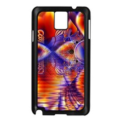 Winter Crystal Palace, Abstract Cosmic Dream Samsung Galaxy Note 3 N9005 Case (Black)