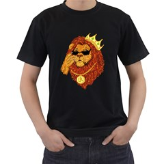 Lion King Men s T Shirt (black)