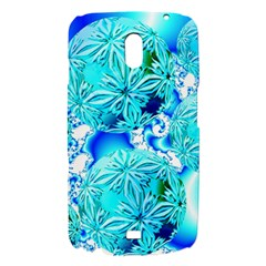 Blue Ice Crystals, Abstract Aqua Azure Cyan Samsung Galaxy Nexus i9250 Hardshell Case