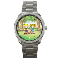 Picnic Time Sport Metal Watch
