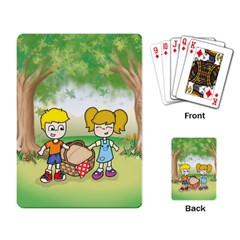 Picnic Time Playing Cards Single Design