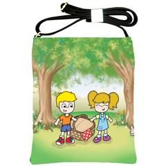 Picnic Time Shoulder Sling Bag
