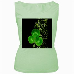 Clover Women s Tank Top (Green)